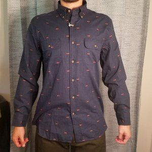 Southern Tide Brushed Twill button down shirt M